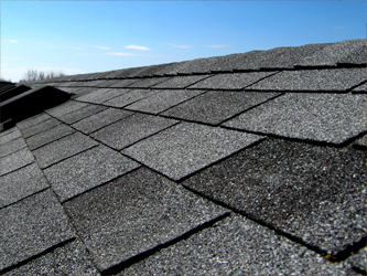 The Asphalt And Mineral Layer Provide Waterproofing To The Shingle. The  Colored Ceramic Particle Top Layer Is What Protects The Shingle From Hail  And UV ...