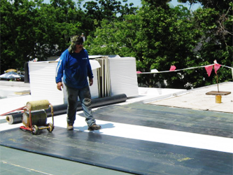 Weatherguard Roofing Company - Roofing Type - EPDM Rubber Roofing